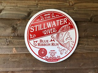 Blue Ribbon Run on the Stillwater in Nye, Montana
