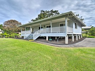NEW! Hilo Home w/Ocean View- 39 Mi to Volcanoes NP