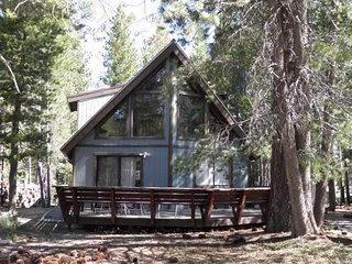 Super Cute Chalet in the Woods with a Huge Deck and Loft!