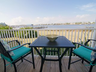 Amazing 2bed/2bath first floor waterfront condo with fabulous views of Old River