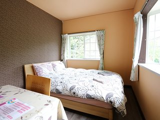 HAKONE Private Double Room 1 mit Venetian Glass Museum Bus Stop Guesthouse B&B