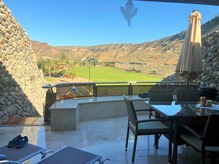 Anfi Tauro Golf Duplex with great views to the course.