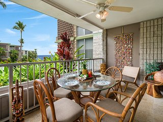 ***Rates Reduced thru September*** Elegant 1br, 1ba in oceanfront complex: Alii
