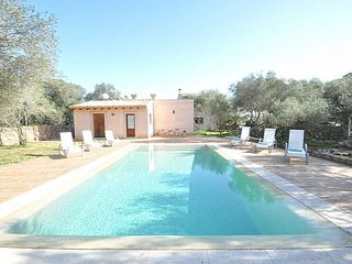 Finca CAN FOSQUET- Rustic house with pool and tennis court in Cala Pi Area Resid