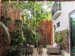 Jungle Studio in Aldea Zamá with Private Patio & Jacuzzi