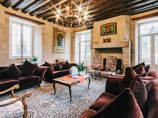 Sainte-Severe-sur-Indre Chateau Sleeps 14 with Pool - 5049830