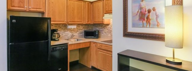 Electric Countertop (no oven);- All linens, towels, bathroom essentials, kitchen utensils, plates, cookware, glasses are provided. You don't need to bring a thing!