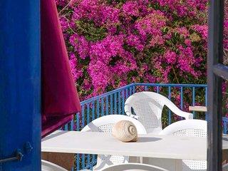 Apartment AEGINIA 3 on the island of Egina 150m. from the sandy beach.