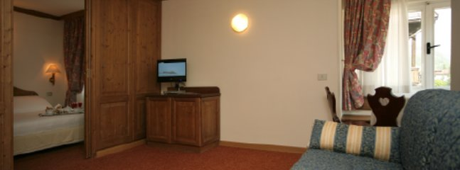 Bi-room with double bedroom and living room with sofa bed (1 place)