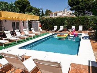 Villa Carabella Beautiful large villa 2 mins walk from beach. Ask accurate quote
