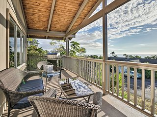 NEW! Hilltop Home w/Ocean View in Kailua-Kona!