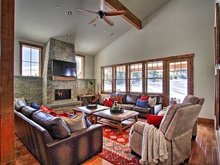 NEW-Suncadia Home w/Fire Pit & Game Room by Winery