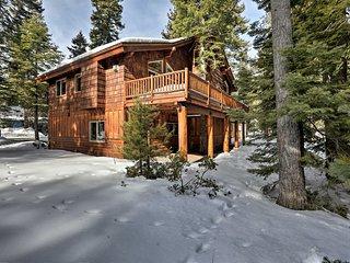 NEW! Tahoma Home w/ Deck - Minutes to Lake Tahoe!