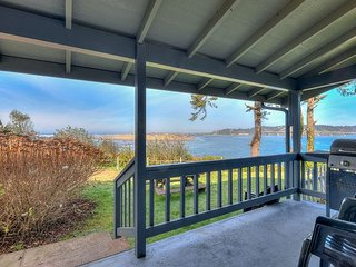 Phenomenal ocean, bay, bridge and river views from this cozy beach home!