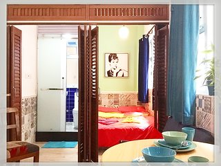 D-BrandNew/1Bedroom/HighSpeedRail/MTR/高鐵西九龍站全新一睡房住四人