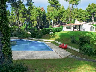 Liberty Villa in Sani with Pool and Garden by JJ Hospitality