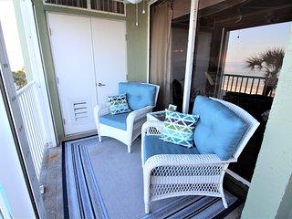 Gulf Front Sand Castle I Condo w/ Balcony, Free WiFi, Complex Pool & More
