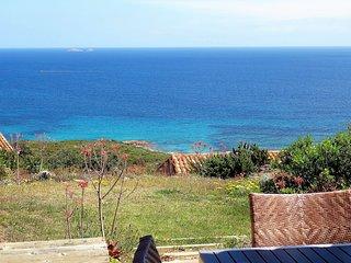 Maison face à la mer, piscine, Palombaggia, classé 3***, pour 2 à 8 personnes