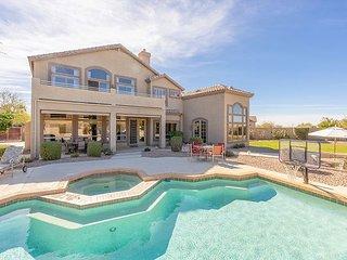 Exquisite Las Sendas Desert Getaway - Backyard Oasis w/ Heated Pool & Hot Tub