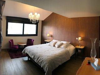 Chambre cosy et romantique myrtilles