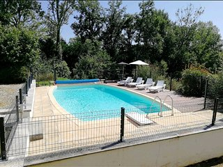 Beautiful 3 bedroom house in the Dordogne with private pool and gardens.