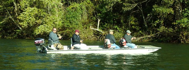 You host also offers motorized river boat rentals.