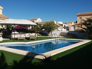 Ref D21 3 bed Neptuno villa with beautiful garden and large private pool