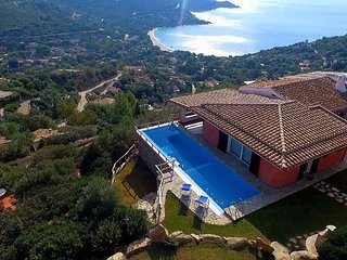 Villa Corallia - Luxury Villa with stunning view over the bay
