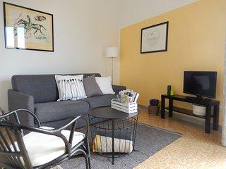 Interno 3 appartamento con vista a Viterbo