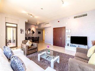 JBR High Floor Marina View Two Bedroom Apartment - Amwaj 4