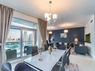 Two Bedroom Burj Khalifa View in The Lofts Downtown Dubai 1302