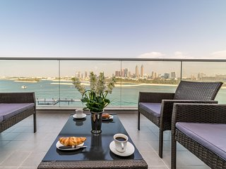 Full Sea View one Bedroom Holiday Home in Palm Jumeirah 515
