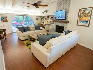 BALBOA -Everything New, Total Refresh-Supersized Luxury, Garden Apt with it All!