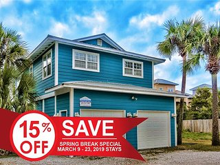 15% OFF Now - 3/23/19! ~Updated Cottage~ Just Steps 2 Beach + FREE VIP Perks!