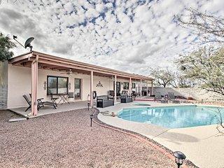 NEW! Casa De Rancho Feliz - Private Pool, Mtn View