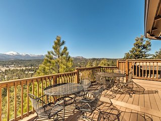 Ruidoso Home w/Hot Tub, Mtn Views & Game Room!