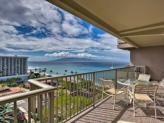 Kaanapali Beach Resort Condo w/ Lanai+Ocean Views!