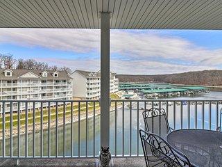 Condo w/Views & Balcony on Lake of the Ozarks