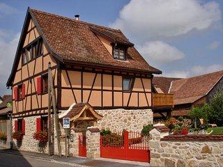 Proximité de Bale-La maisonnette Gites de Charme **** 7/8 pers. avec jardin