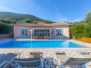 Next Year Offer :Private villa with pool and sea views in Sivota Lefkada