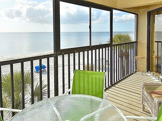 Arie Dam #202 - Beach Front/Amazing sunsets/Private balcony/Near John's Pass!