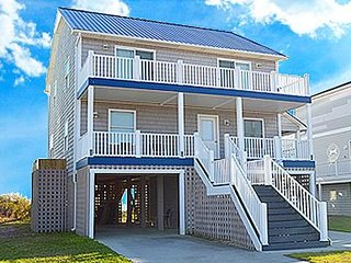 Almost Heaven - 5BR Oceanfront House in North Topsail Beach - Sleeps 14