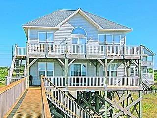 Beach Haven - 4BR Oceanfront House in North Topsail Beach - Sleeps 10