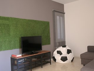 Spacious apartment in Barcelona with Lift, Internet, Washing machine, Air condit