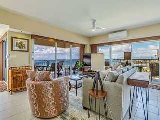 Oceanfront Bliss! Epic View, Gourmet Kitchen, Lanai, WiFi