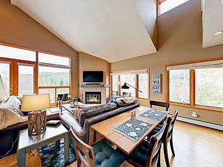 2BR Watch Hill Condo w/ Epic Views & Hot Tub—Short Drive to Skiing
