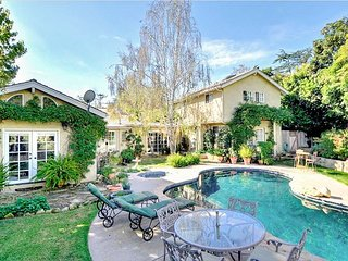 Majestic Montecito Retreat 2BR on 1/2 Half Acre w/ Private Pool, Spa & Garden