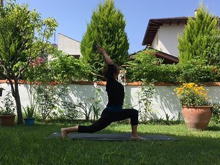 An experience holiday in Dalyan. Yoga Qigong in a large garden!