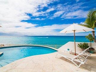 VILLA BLUE SHORE... Beautiful 3 bedroom villa at Shore Point on Cupecoy Beach!