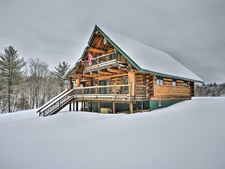 Williamstown Handcrafted Log Cabin on 27 Acres!